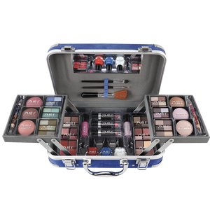 TRAVELLER BLUE COSMETIC CASE