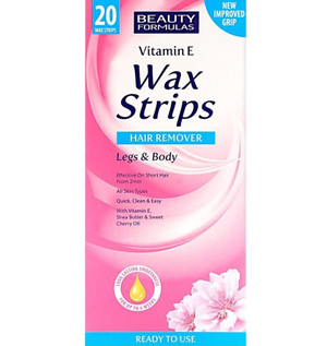 HAIR REMOVAL WAX STRIPS FOR LEGS & BODY (20)