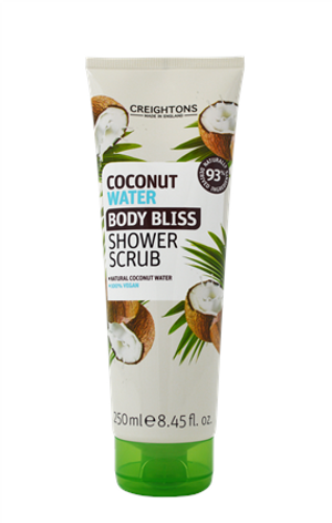 COCONUT WATER BODY BLISS SHOWER SCRUB 250ML