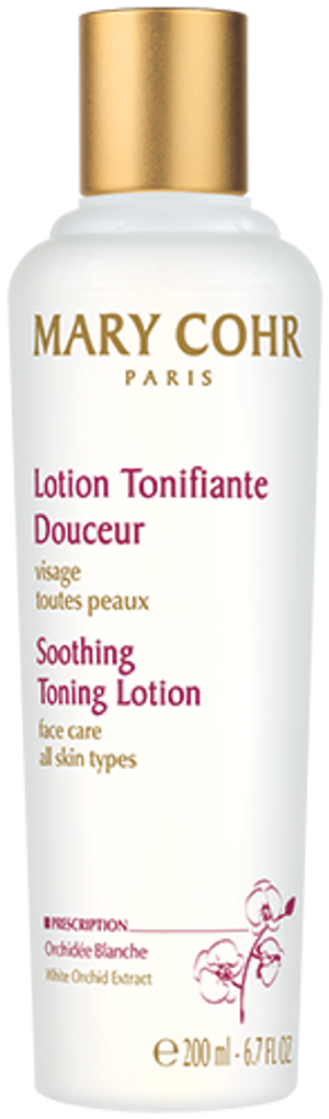 SOOTHING TONING LOTION WITH WHITE ORCHID EXTRACT 400ML