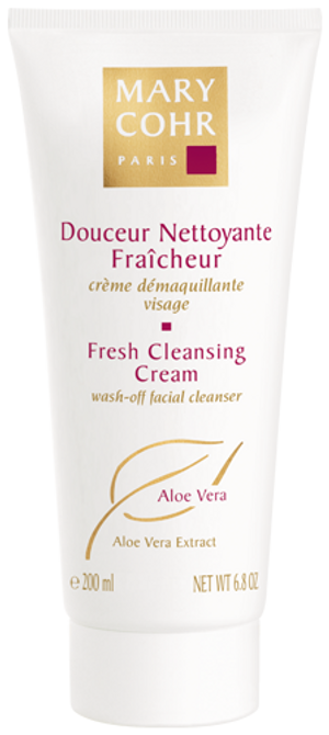 FRESH CLEANSING CREAM WASH-OFF ALOE VERA EXTRACT 200ML