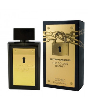 ANTONIO BANDERAS THE GOLDEN SECRET EAU DE TOILETTE 100ML (Men)
