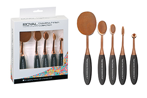 ROYAL FLAWLESS FINISH COLLECTION BRUSHES