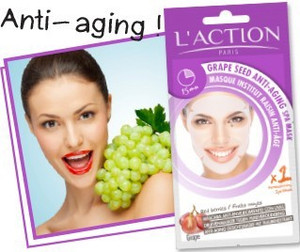 L'ACTION ANTI-OXIDANT GRAPE SEED ANTI-AGEING SPA MASK