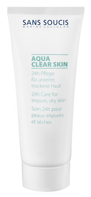 AQUA CLEAR SKIN 24H CARE FOR IMPURE, DRY SKIN WITH MAGNOLIA EXTRACT 40ML