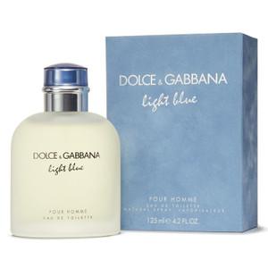 DOLCE & GABBANA LIGHT BLUE POUR HOMME EAU DE TOILETTE 125 ML