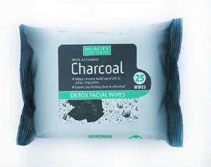 CHARCOAL DETOX FACIAL WIPES