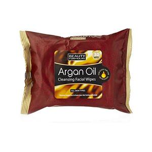 ARGAN OIL CLEANSING FACIAL WIPES 30