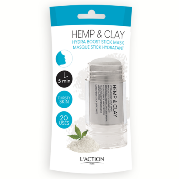L'ACTION HEMP & CLAY STICK MASK