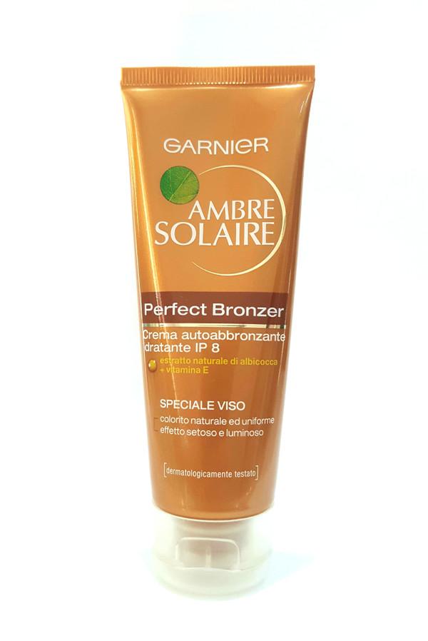 GARNIER AMBRE SOLAIRE PERFECT BRONZER CREAM SPF8 SPECIALE VISO 75ML