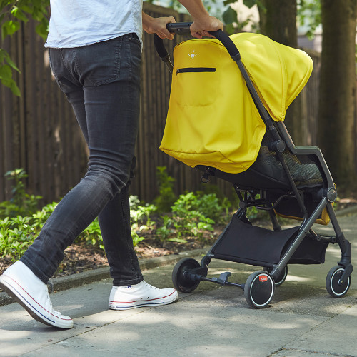 Diono Traverze Stroller In City [Charcoal Copper Hive]