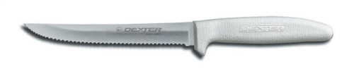"""Dexter Russell Sani-Safe 6"""" Scalloped Utility Knife 13303 S156SC-PCP"""