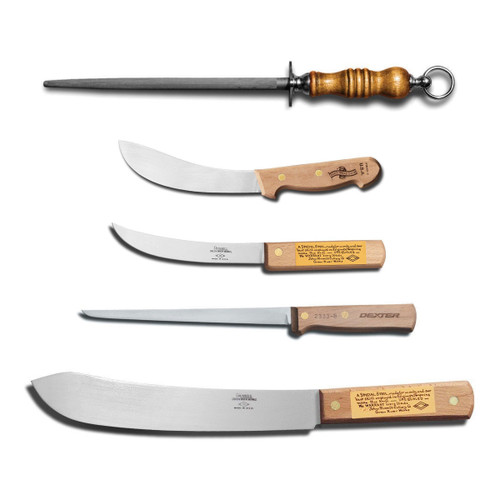 Dexter Russell 5 Pc. Traditional Butcher Gift Set VB3903