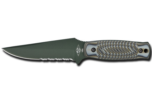 Dexter Russell Green River Tactical Serrated Foliage Green Blade Green Handle 45009 40404Pg-Fb