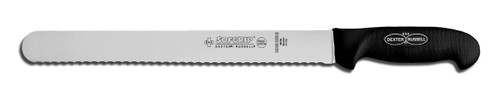 SG140-12SC Dexter Russell 12 inch Scalloped Slicer with SofGrip Handle