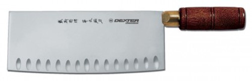 "S5198GE Dexter 8""x 3 1/4"" Chinese  Duo Edge Chefs Knife"