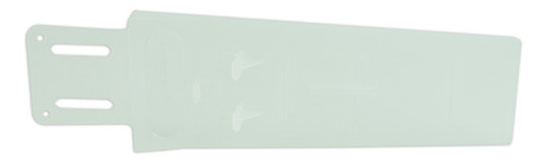 """Dexter Russell 5"""" X 18"""" Hook Eye Scabbard White Poly for Large Knives or High Curve Blades 42027 TAS1 Plastic"""