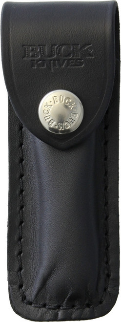 Buck 501 Black Leather Sheath Only for 501 Squire Lockback Knife