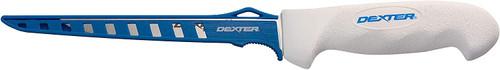 "Dexter Russell  SG133-9EG 9"" SOFGRIP® flexible fillet knife with Edge Guard 24903"