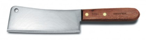 """Dexter Traditional 6"""" High Carbon Steel Cleaver 08010 5096 (08010)"""