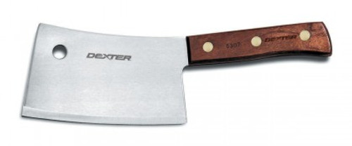 """Dexter Traditional 7"""" High Carbon Steel Cleaver 08070 5387 (08070)"""
