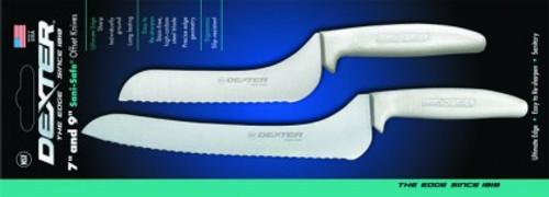 Dexter Russell Sani-Safe 2 Piece Offset Knife Set 20373 S163-7SC/9SC