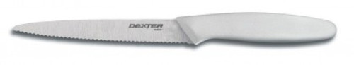 "Dexter Russell Basics 5 1/4"" Scalloped Fruit Knife 31624 P94005 (31624)"