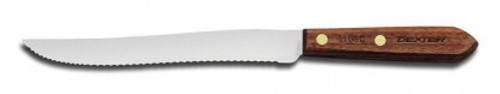 "Dexter Russell Traditional 8"" Scalloped Slicer 13341 418SC (13341)"