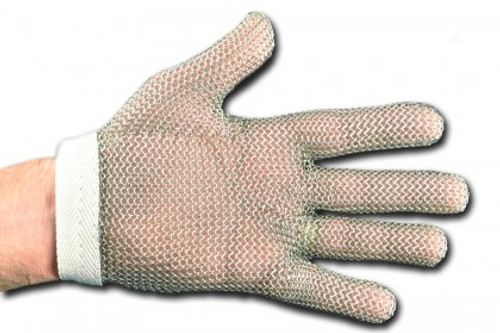 Dexter Russell Sani-Safe Stainless Steel Mesh Glove PCP Pack Size Large 82163 SSG2-L-PCP