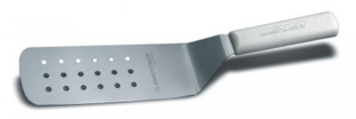 """Dexter Russell Sani-Safe 8""""x3"""" Perforated Turner Green Handle 19703G PS286-8G-PCP (19703G)"""