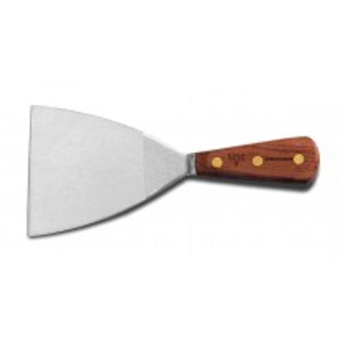 "Dexter Russell Industrial 4"" Stiff Griddle Scraper 50801 525S-4"