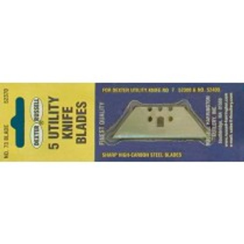 Dexter Russell Industrial 10 Packages of 5 Utility Blades 52370 73-5