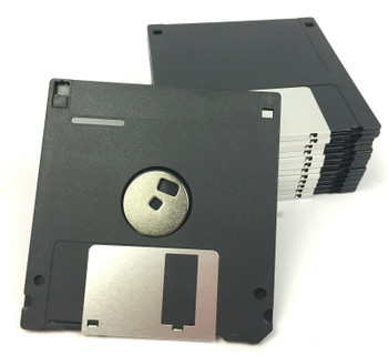 3.5 Inch High Density DS/HD 1.44 MB Formatted Floppy Diskettes - Pack of 100