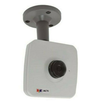 ACTi E12A 3MP Indoor Cube Camera with Basic WDR and a Fixed 2.8mm Lens