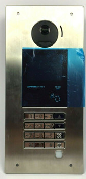"""Aiphone GT-DMB-N Video Entrance Station with NFC Reader - 12-5/8"""" x 5-3/16"""""""