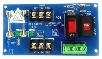 Altronix PD1 Power Distribution Module 28VAC Board