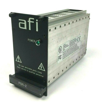 American Fibertek AFI PSR-2+ 150W Max 100-240VAC 50-60Hz Power Supply