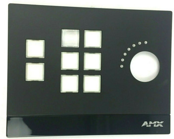 AMX by Harman Massio 8-Button ControlPad with Volume Knob MKP-108-BL - NEW