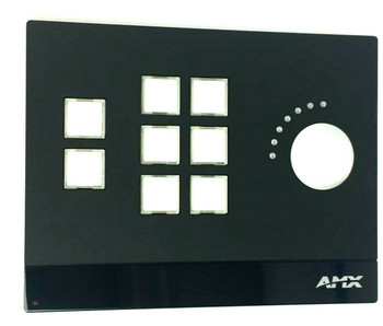 AMX by Harman 8-Button ControlPad with Volume Knob MCP-108-BL - NEW