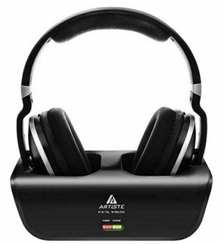 Artiste Wireless 2.4GHz Digital Stereo Over-Ear Headphone ADH300