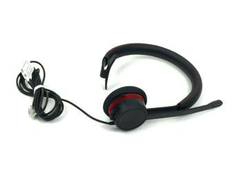 Avaya L119 Mono Headset with RJ9 Plug 700514051 Black with Carrying Bag