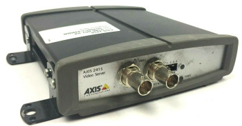 Axis Communications 241S Security Camera Encoder Video Server - 0186-001-04