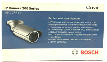 Bosch NTC-255-PI Security Video Network Color IP Bullet Camera Board Mount - NEW