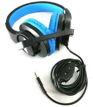 Butfulake SL-300 Gaming Blue Headset for Xbox One PS4 PlayStation 4