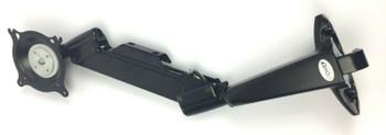 Chief KCV110B Height Adjustable Single Arm Desk TV Mount - Mounting kit for Flat