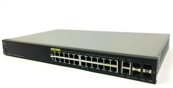 Cisco 28-Ports Gigabit PoE Managed Switch SG350-28P-K9-NA