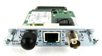 Cisco HWIC-3G-CDMA-V 3G Wireless WAN HWIC 3.1 Mbps Modem Interface Card