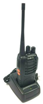 Club X 16 Channels Compact and Rugged UHF Two Way Radio 2 Watts