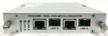 Comnet CNGE22MC 4 Port 2 Channel 10/100/1000 Mbps Ethernet Media Converter