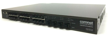 Comnet Communication 24 Port Managed Ethernet Switch CNGE28FX4TX24MSPOE